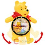 Disney Winnie the Pooh  Friends Animated Swing Legs Wall Clock