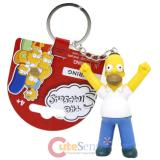 The Simpsons Family PVC Figural Key Chain - Homer