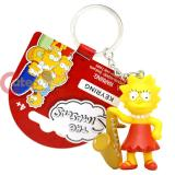 The Simpsons Family PVC Figural Key Chain - Lisa