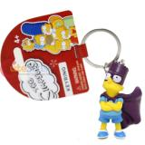 The Simpsons Family PVC Figural Key Chain - Bart Hero