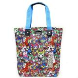 tokidoki Cactus Friends Shopper Tote Bag Shoulder Bag