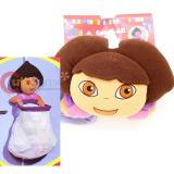 Dora The Explorer Dora Catch All Bag with Large Plush Doll  Door Hanging Toy Bag
