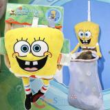 SpongeBob SquarePants Catch All Bag with Large Plush Doll  Door Hanging Toy Bag