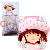 Strawberry Shortcake Catch All Bag with Large Plush Doll  Door Hanging Toy Bag