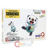 Pokemon Best Wishes Oshawott Moving 3D Puzzle Kit