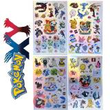 Nintendo Pokemon XY  Auroras Silver Stickers Set (over 100pc)