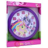 My Little Pony Round Wall Clock -9.5in