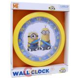 Despicable Me 2 Minion Round Wall Clock -9.5in