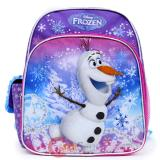 "Disney Frozen Olaf 12"" School Backpack Snow Man Small Bag"
