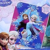 """Disney Frozen Elsa Anna Olaf Raschel Plush Blanket Twin 59"""" x 78"""""""