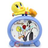 Looney Toon Tweety Bird Figure Alarm Clock Table Watch