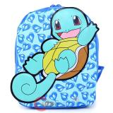 "Pokemon Squirtle Toddler Backpack  10"" Small Bag"