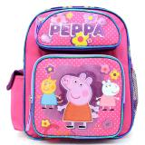 "Peppa Pig Medium School Backpack 12"" Girls Bag"
