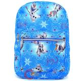 Disney Frozen Olaf  All Over Print Large School Backpack