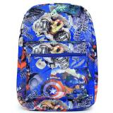 Marvel Avengers Heroes All Over Print Large School Backpack