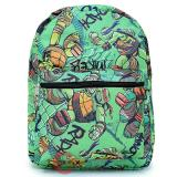 TMNT Ninja Turtles All Over Print Large School Backpack