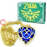 Legend of Zelda Skyward Sword Blue Heart Containers Necklace with Box