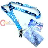 Sword Art Online Kirto Lanyard Key Chain Phone Charm with ID Pocket