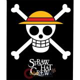 One Piece Straw Hat Crew Microfiber Plush Throw Blanket  (50 x60 )
