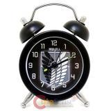 Attack on Titan Scouting Legion Stainless Mini Table Alarm Clock