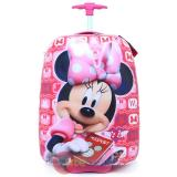 Disney Minnie Mouse ABS Rolling Luggage ,Trolley Bag, Hard Suit Case