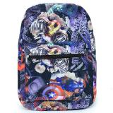 Marvel Avengers Heroes All Over Print Large School Backpack - Black