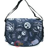 Nightmare Before Christmas School Messenger Shoulder Cross Bag -All Over Black