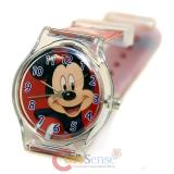 Disney Mickey Mouse Kids Wrist Watch Analog watch with Jelly Band