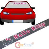 Sanrio Hello Kitty Windshield Decal Big Logo Window Clings