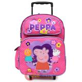 Peppa Pig  School Roller Backpack Large 16in Bag