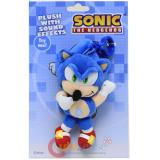 Sonic The Hedgehog Sonic Plush Doll Key Chain with Sound