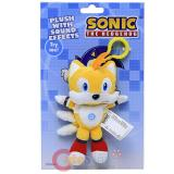 Sonic The Hedgehog Tails  Plush Doll Key Chain with Sound