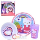 Sanrio Hello Kitty 3Pc Kids Dining / Dinnerware Set