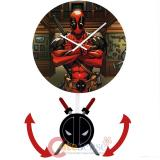 Marvel DeadPool 3D Pendulum Swing Wall Clock