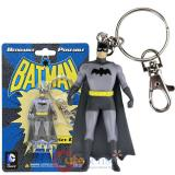 DC Comic Batman Key Chain PVC  Figure Benable Poseable Key Holder