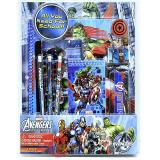 Marvel Avengers Assemble School Stationary Set 11pc Value Pack