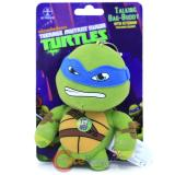 TMNT Ninja Turtles Leonardo Plush Doll Key Chain with Sound