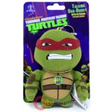 TMNT Ninja Turtles Raphael Plush Doll Key Chain with Sound