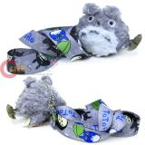 My Neighbor GreyTotoro Plush Doll Lanyard Key Chain with Acorn Bag