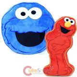 Sesame Street Elmo Cookie Monster 2pc Decorative Pillow Cushion Set