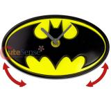 DC Comics Batman Logo Wobble Clock Wall Clock