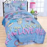 Disney Mickey Minnie Mouse 7pc Full Bedding Comforter Set