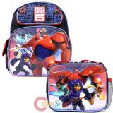 "Disney Big Hero 6  12"" School Backpack and Lunch Bag 2pc Set"