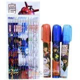 Big Hero 6  Hiro Baymax Pencil  Fragrance  Eraser Set