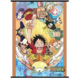 One Piece Group Go On Board Ship Wall Scroll GE60096