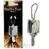 Attac Attack on Titan Scout Regiment Key Cap Key Holder