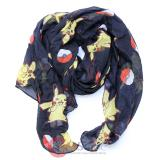 Pokemon Pikachu All Over Toss Print Viscose Scarf