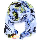 DC Comics Batman Logo All Over Print Viscose Scarf
