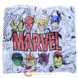 Marvel Heros Comic All Over Print Infinity Viscose Scarf