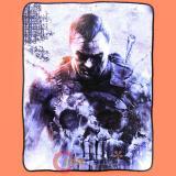 Marvel Punisher Man Fleece Blanket  Microfiber Plush Throw (45 x60 )